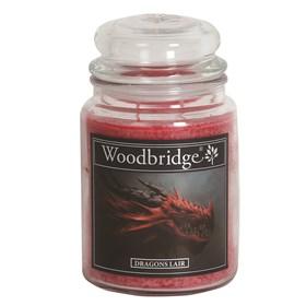 Dragons Lair Woodbridge Large Scented Candle Jar