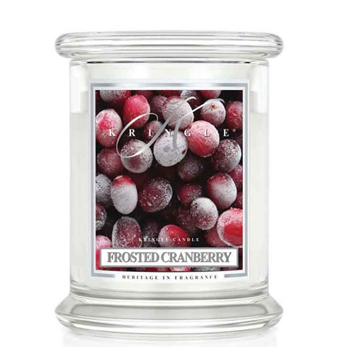 Frosted Cranberry 14.5oz Candle Jar