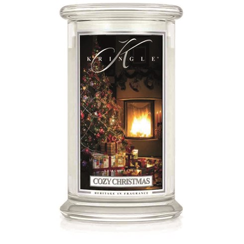 Cozy Christmas 22oz Candle Jar