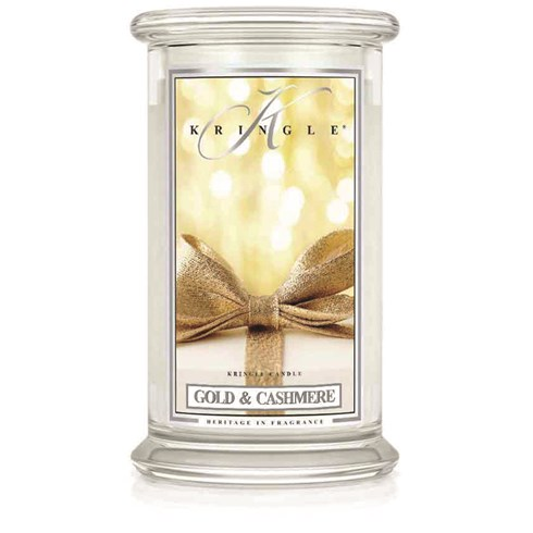 Gold & Cashmere 22oz Candle Jar