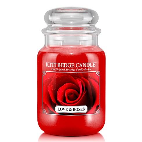 Love & Roses 23oz Candle Jar