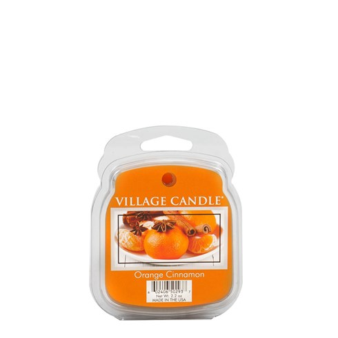 Orange Cinnamon Village Candle Scented Wax Melts