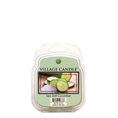 Sea Salt Cucumber Village Candle Scented Wax Melt