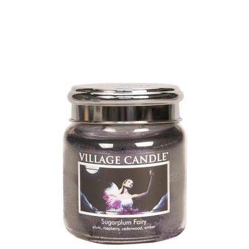 Sugarplum Fairy Village Candle 16oz Scented Candle Jar - Metal Lid