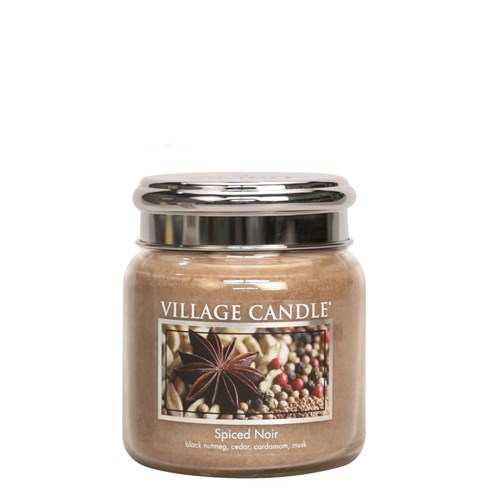 Spiced Noir Village Candle 16oz Scented Candle Jar