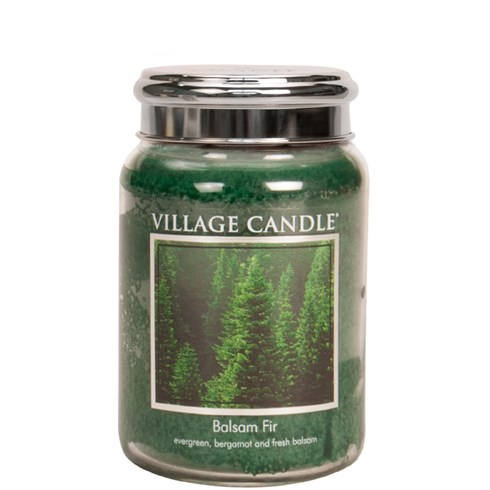 Balsam Fir Village Candle 26oz Scented Candle Jar