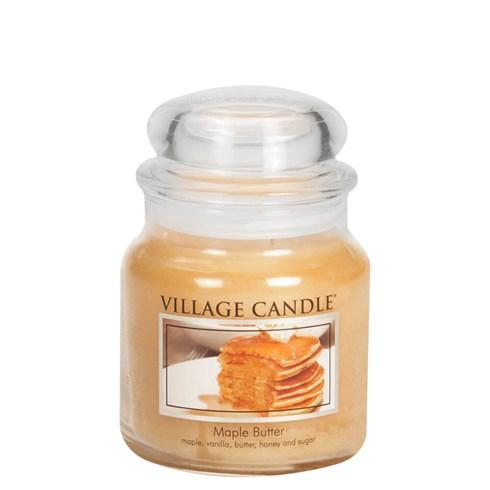 Maple Butter Village Candle Medium Scented Jar