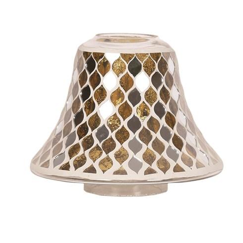 Gold Mirror Teardrop Jar Lamp Shade