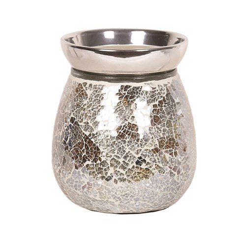 Electric Wax Melt Burner - Gold & Silver Crackle