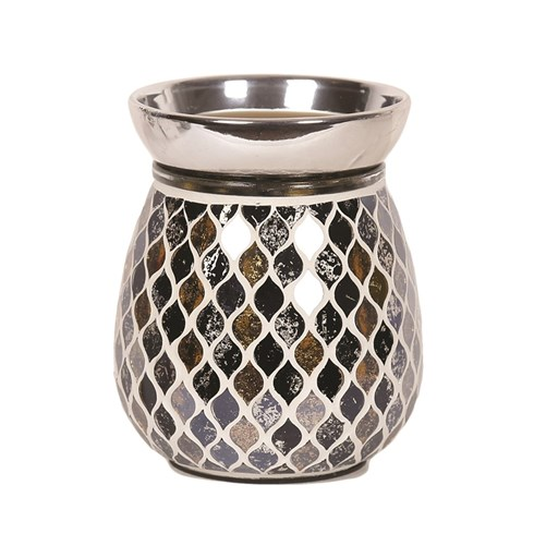 Black and Gold Teardrop Electric Wax Melt Burner