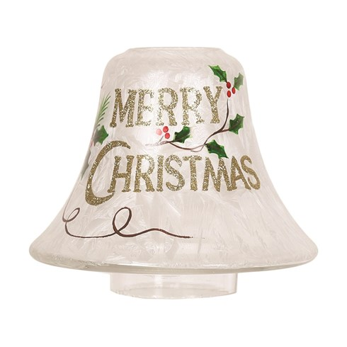 Merry Christmas Candle Jar Lamp Shade
