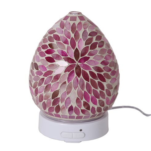 Pink Petals LED Ultrasonic Diffuser