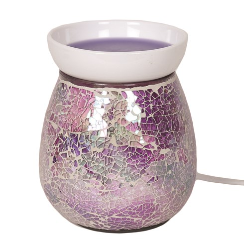 Electric Wax Melt Burner - Purple Crackle