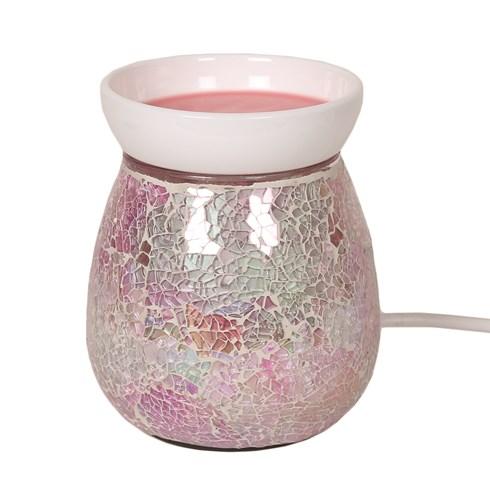 Electric Wax Melt Burner - Pink Crackle