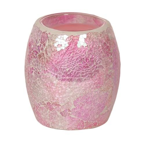 Pink Crackle Electric Burner