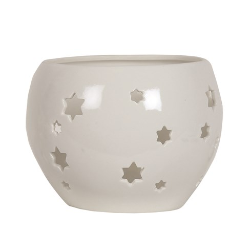 Star Globe Tealight Holder 11.5cm