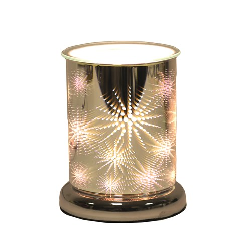 Cylinder 3D Electric Wax Melt Burner - Firework