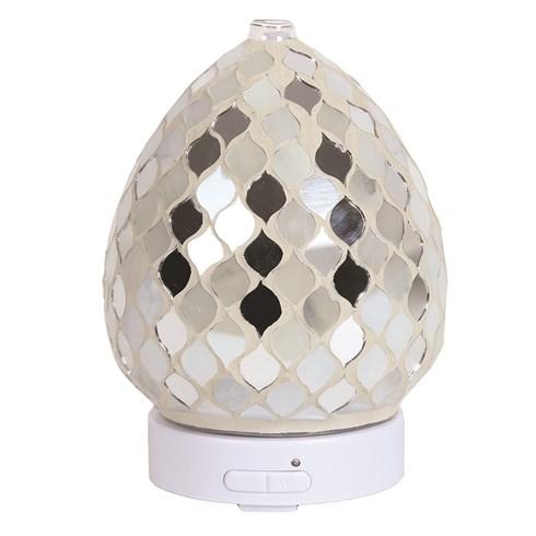 LED Ultrasonic Diffuser - Pearl & Silver