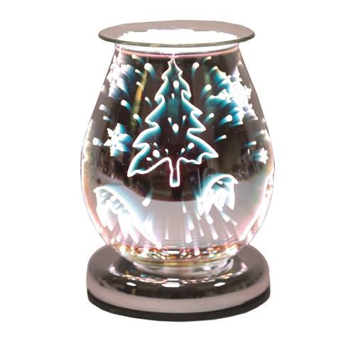 Oval 3D Electric Wax Melt Burner - Reindeer