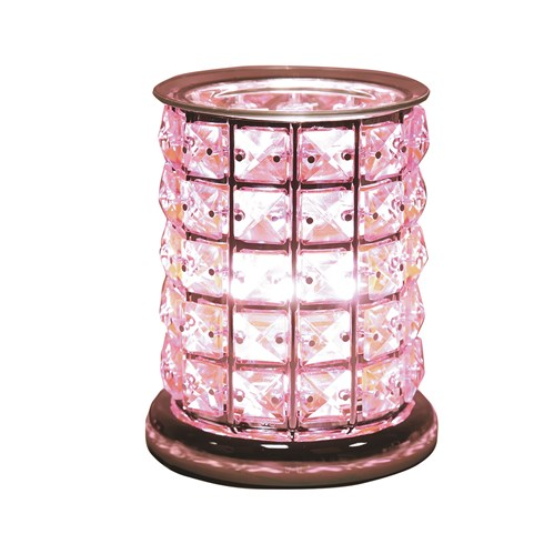 Touch Electric Wax Melt Burner - Pink Crystal