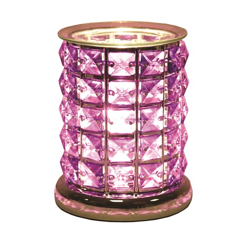 Touch Electric Wax Melt Burner - Purple Crystal