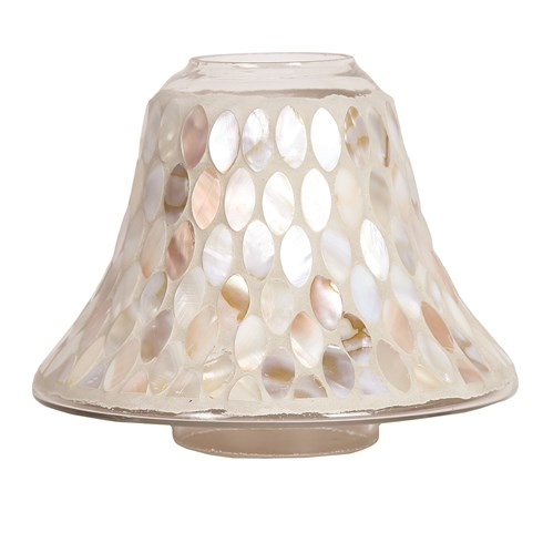 Candle Jar Lamp - Mother Of Pearl