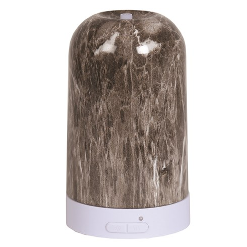 LED Ultrasonic Diffuser - Grey Marble