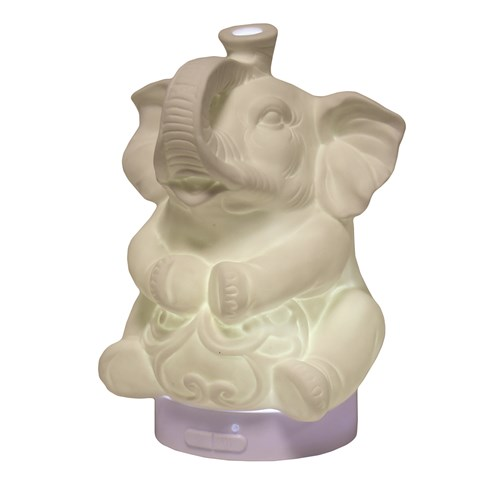 LED Ultrasonic Ceramic Diffuser - Elephant