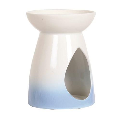 Wax Melt Burner - Blue Teardrop Burner