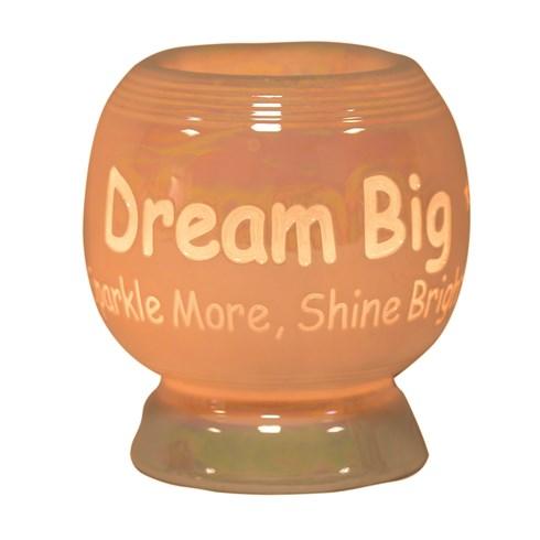 Sentiment Electric Wax Melt Burner - Dream Big, Sparkle More, Shine Bright