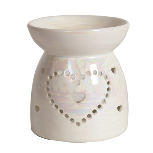 Wax Melt Burner - Lustre Heart