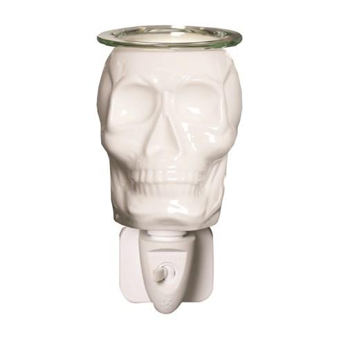 Plug In Wax Melt Burner - Skull