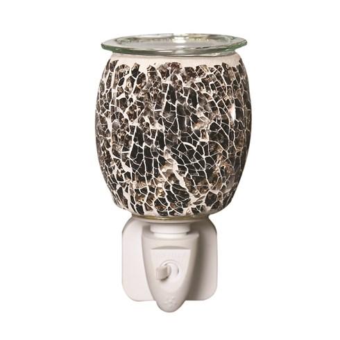 Wax Melt Burner Plug In - Natural Glass Mosaic
