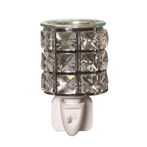 Wax Melt Burner Plug In - Clear Crystal