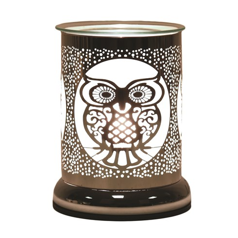 Silhouette Electric Wax Melt Burner Touch -  Owl