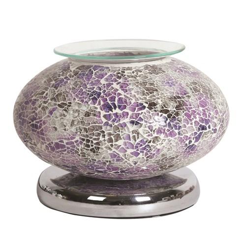 Ellipse Electric Wax Melt Burner Touch - Purple Mosaic