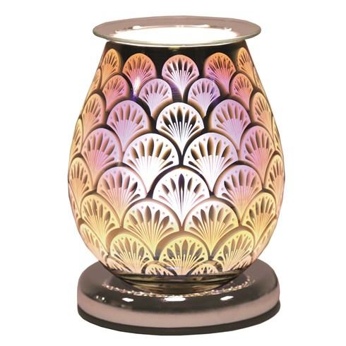 Oval 3D Electric Wax Melt Burner - Fan