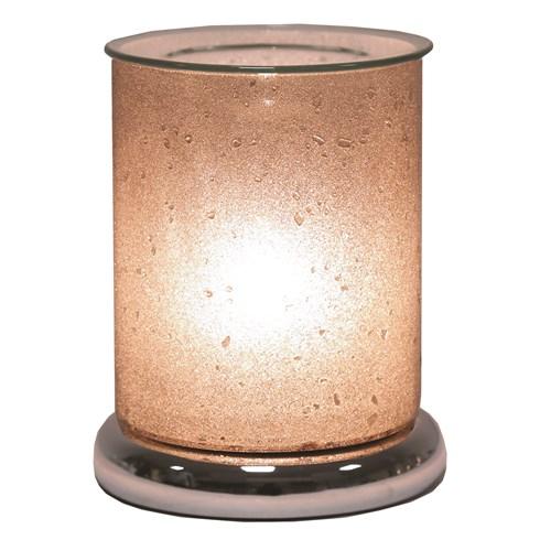 Electric Wax Melt Burner Touch - Sherbet Pewter Cylinder