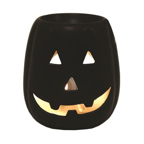 Wax Melt Burner - Pumpkin Black
