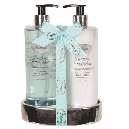 Beach Floral Luxury Hand Wash & Lotion