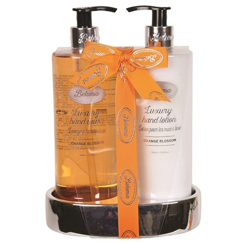Orange Blossom Luxury Hand Wash & Lotion