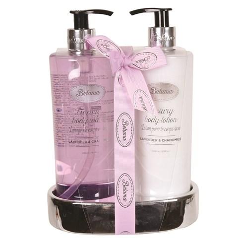 Lavender & Chamomile Luxury Body Wash & Lotion