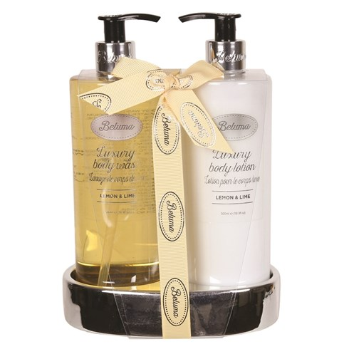 Lemon & Lime Luxury Body Wash & Lotion