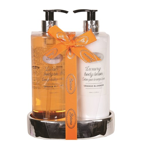 Orange Blossom Luxury Body Wash & Lotion