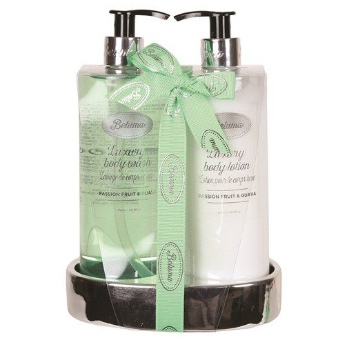Passion Fruit & Guava Luxury Body Wash & Lotion