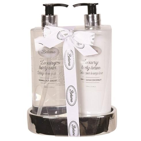 Vanilla & Coconut Luxury Body Wash & Lotion