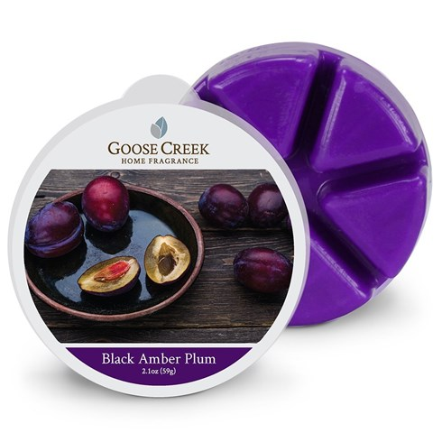 Black Amber Plum Scented Wax Melts