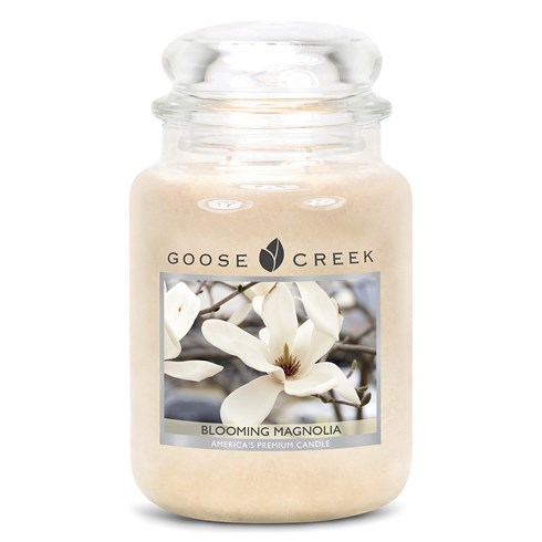 Blooming Magnolia 24oz Scented Candle Jar