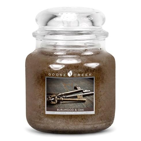 Burlwood & Oak 16oz Scented Candle Jar