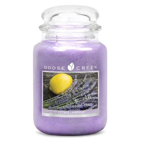 Citrus Lavender 24oz Scented Candle Jar